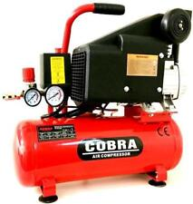 COBRA AIR TOOL POWERFUL  COMPRESSOR 5.7 CFM 2 HP 115PSI S 10L LITER
