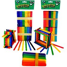 Jumbo Lolly Lollipop Building Sticks Colour Pack 260