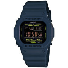 CASIO G-SHOCK BLUE X BLACK SERIES GW-M5610NV-2JF 6 MULTIBANDS SOLAR POWERED