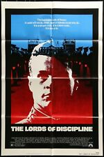 THE LORDS OF DISCIPLINE ORIGINAL FOLDED MINT MOVIE POSTER 1983 DAVID KEITH 27X41