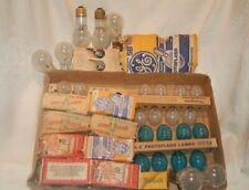 Vintage Camera Photography Flashbulbs, Assorted Lot see photos, Sylvania , GE,