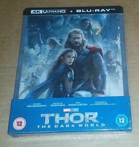Thor: The Dark World (4K Ultra HD + 2D Blu-ray) UK Marvel Steelbook