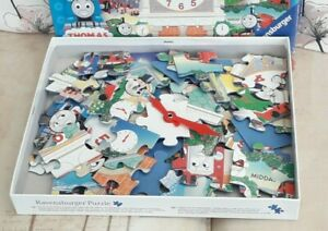 Thomas and Friends tell the time jigsaw with movable hands. Great puzzles.