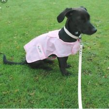 Dog Rain Coat Pac a Mac by MacPAWS pink  22""