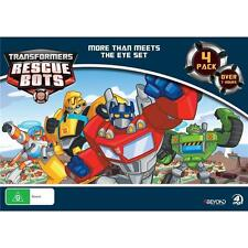 Transformers Rescue Bots More Than Meets The Eye Set 4-dvd 7 Hours R4