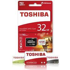 Toshiba 32GB EXCERIA Micro SD SDXC Flash Memory Card UHS-I U3 Class 10 90MB/s