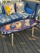 Surfboard Table, Tropic style, Surfing gift, Art Decor New