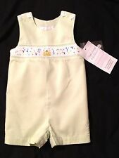 NWT Strasburg Children Baby Boys Embroidered Birthday Outfit- 6 Months- Green