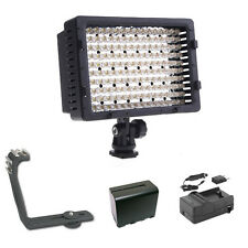 Pro XB-12 LED DSLR video light F970 for Panasonic GH4 GH3 GH2 G6 G6KK G5 Lumix S