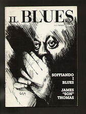 IL BLUES 6/1984 ALEXIS KORNER WEBSTER JIMMY JOHNSON JAMES SON THOMAS AL GREEN