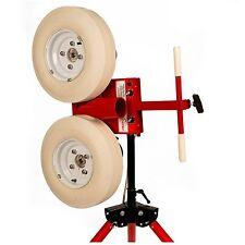 NEW First Pitch Two 2 Wheel Curveball Baseball Pitching Machine 105 mph Free UPS
