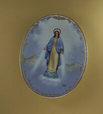 Visions of our Lady Our Lady Of Grace Plate #5 Religious Catholic Hector Garrido