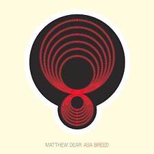 MATTHEW DEAR - ASA BREED (2007 Promo CD + press release, Ghostly International)