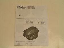 Briggs & Stratton Small Engine Operator'S Manual-Model#90000/10000