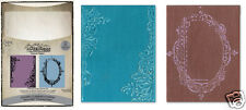 Sizzix Tim Holtz Alterations FANCY & FLORAL FRAMES SET EMBOSSING Texture Fades