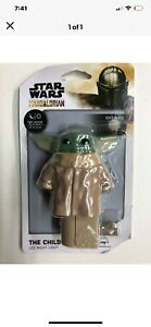 ONE Star Wars LED Night Light Mandalorian The Child Baby Yoda Plug In w Sensor
