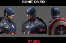 Captain America Avengers Endgame Coin Bank 20 cm Semic Salvadanaio Marvel