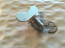 Harley Panhead Tool Box Wing Stud Screw & Clip 55-57 OEM# 64500-52A