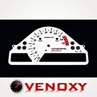 Honda CBR 1000 RR 2004-2005 v.2 Aftermarket Instrument Cluster White Gauge Faces