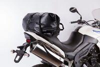 SHAD Rear Duffle SW38 Bolsa Blanda para Motocicleta, Resistente al Agua, C Negro