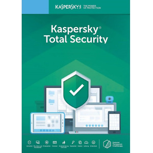 Kaspersky Total Security 2021 -1 Year 5 Devices -Antivirus Key Brand New- GLOBAL
