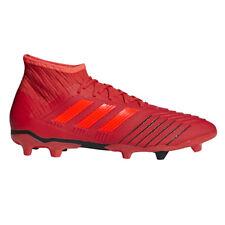 Adidas Predator 19.2 FG Men's Soccer Cleats D97940 - Red (NEW) Lists @ $130