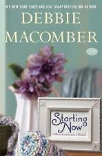 Starting Now-Debbie Macomber-2013 Blossom Street novel #10-hardcover/dust jacket