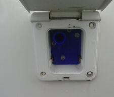 Whale Watermaster caravan water pump inlet housing socket flap / cover / lid WF2