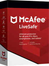McAfee Live Safe (Unlimited device)