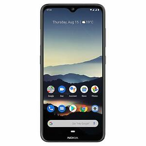 """Brand New NOKIA 7.2 Charcoal TA-1178 4GB 128GB 6.3"""" Android 10 Smartphone In Box"""