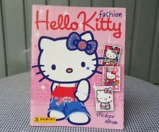 ALBUM HELLO KITTY FASHION CON POSTER PANINI ALBUM FIGURINE DA COLLEZIONE