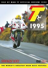 Isle of Man TT - Official Review 1995 (New DVD) Smokin' Joey (Dunlop)