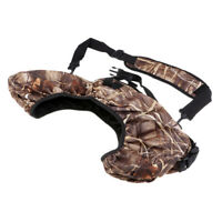 Neoprene Bow Bag Hunting Hand-free Archery Compound Bow Carrier Camo