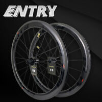 Elite Road Bike Carbon Wheelset Clincher 700c With Sapim Secure Lock Nipple