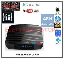 ANDROID TV BOX SMART TV Q10 ANDROID 8.1 A53 4GB RAM 64GB 4K  WIFI