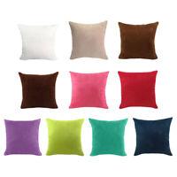 Couvre-oreillers Housse de coussin en velours Multi-Colors-18x18 '' / 24x24 ''