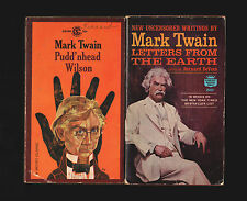 MARK TWAIN lot (5): Life on Missisippi Letters from Earth Tramp Abroad Innocents
