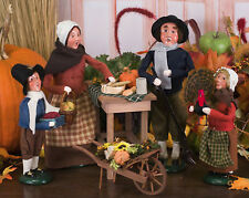 Byers Choice Pilgrim Family & Harvest Table - 5-Piece Set - Free Shipping*