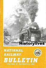 NRHS Bulletin V47 N6 Steam Locomotives GTW Nickel Plate Road B&O PRR N&W Reading