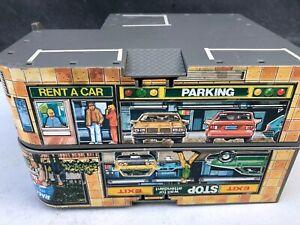 Vintage Matchbox 1989 Fold N' Go Auto Parking Garage Restaurant Parts