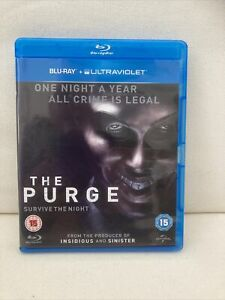 The Purge (Blu-ray, 2013) Pre Owned