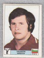 Sticker weightlifting Valentin Hristov Bulgaria Olympic Montreal 1976 Panini DN