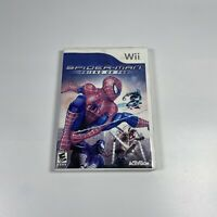 Spider-Man: Friend or Foe (Nintendo Wii, 2007) Tested And Working!