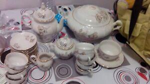 Service vaisselle porcelaine Mariage