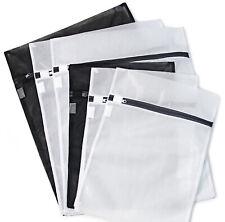 6 Zipped Wash Bag Net Laundry Washing Mesh Lingerie Underwear Bra Clothes Socks