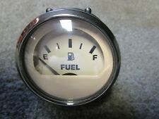 NEW FARIA GP2096A BEIGE BOAT FUEL GAUGE FREE SHIPPING