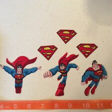 Superman Fabric Iron On Appliques - style #2