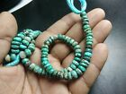 """AAA CHRYSOCOLLA SMOOTH RONDELLE 7-7.5 MM GEMSTONE BEADS 8"""" STRANDS"""
