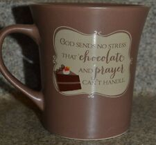 Abbey Press Chocolate Mug Cake Recipe God Sends No Stress..Prayer and Chocolate