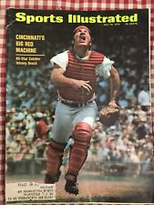 Sports Illustrated 7/13/70 Johnny Bench Cincinnati Reds